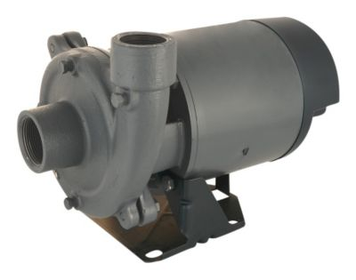 1/3 HP Single-Stage Centrifugal Pump with Plastic Impeller