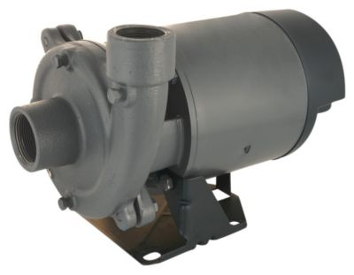 1/2 HP Single-Stage Centrifugal Pump with Plastic Impeller