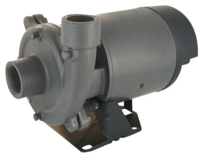 3/4 HP Single-Stage Centrifugal Pump with Plastic Impeller