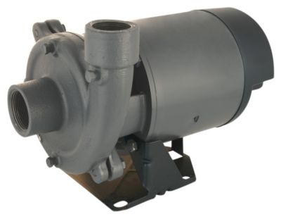 1-1/2 HP Single-Stage Centrifugal Pump with Plastic Impeller