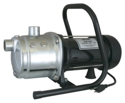1 HP Portable Lawn Sprinkler Utility Pump