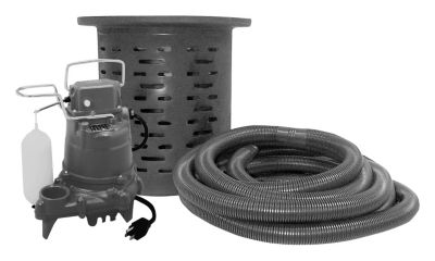 1/2 HP Crawl Space System with Pump