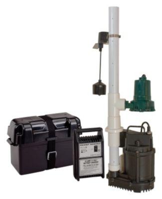 Silent Sentry® 12V Back-Up Sump Pump System