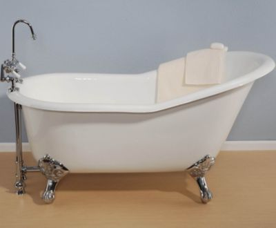 Lucerne 5' Cast Iron Slipper Tub