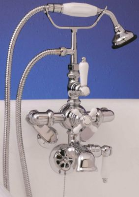 Thermostatic Leg Tub Faucet with Handheld