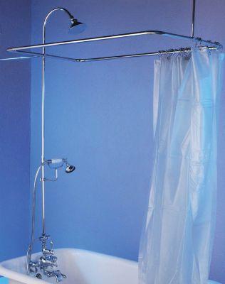 Thermostatic Leg Tub Shower Enclosure
