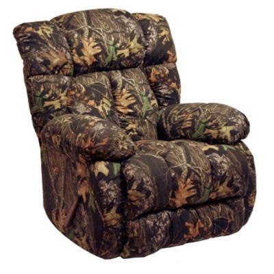 Laredo Fabric Chaise Rocker Recliner