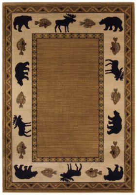 Cabin Retreat Area Rug