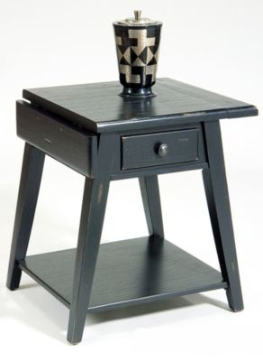 Treasures Splay Leg End Table