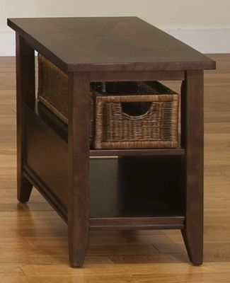 Basket End Table