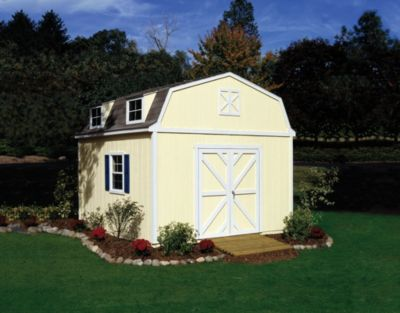Premier Series Sequoia Gambrel Building - 12' x 12'