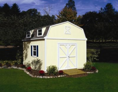 Premier Series Sequoia Gambrel Building with Floor - 12' x 24'
