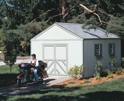 Premier Series Columbia Gable Building with Floor - 12' x 16'