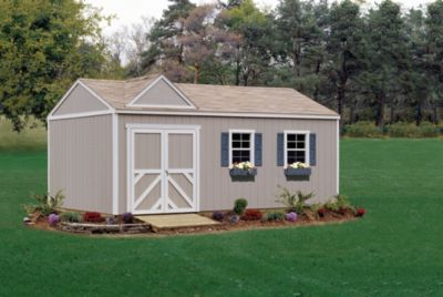 Premier Series Columbia Gable Building with Floor - 12' x 20'