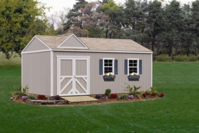 Premier Series Columbia Gable Building with Floor - 12' x 24'