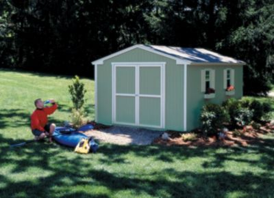 Marco Series Cumberland Gable Building with Floor - 10' x 12'