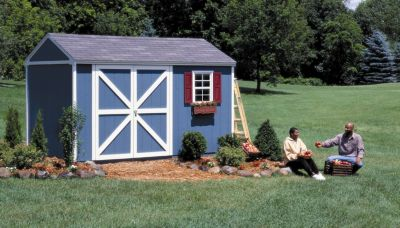 Premier Series Somerset Gable Building with Floor - 10' x 14'