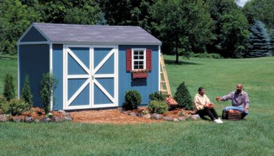 Premier Series Somerset Gable Building with Floor - 10' x 12'