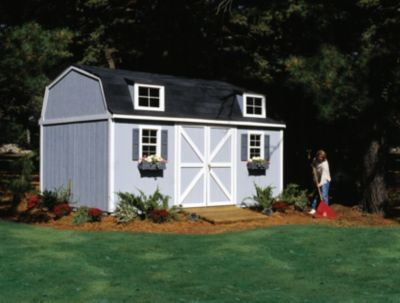 Premier Series Berkley Gambrel Building with Floor - 10' x 16'