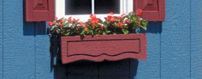 Small Flower Box with Plastic Liner