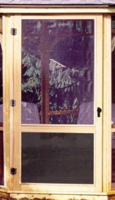 San Marino 10' Screens with Door