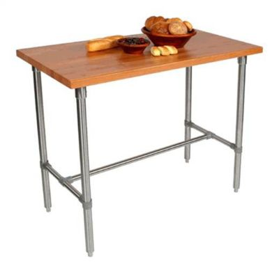 Cucina Americana Classico Stainless Steel Table - Cherry