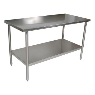 Cucina Americana Tavalo Table - Stainless Steel