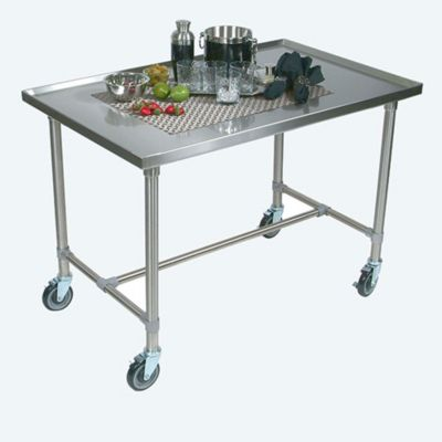 Cucina Americana Mariner Table - Stainless Steel