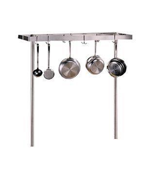 Cucina Americana Grande Pot Rack - Stainless Steel
