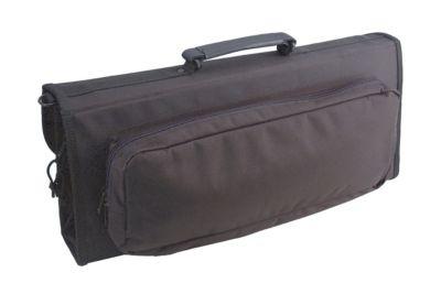 17-Pocket Knife Case with Large Storage Pocket