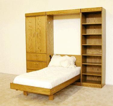 Contemporary Oak Queen Pier Bookcase
