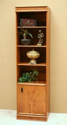 Transitional Oak Full Door Cabinet