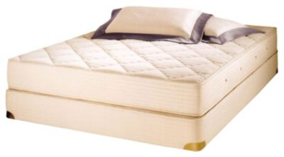 R-P Natural Organic Latex Quilt-Top Mattress Set