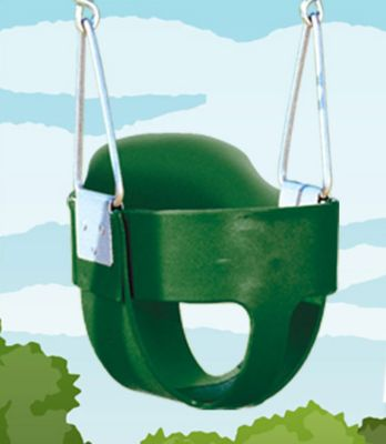 Bucket Toddler Swing with Rope