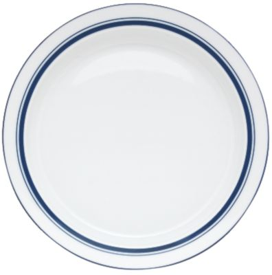 Christianshavn Blue Butter Plate