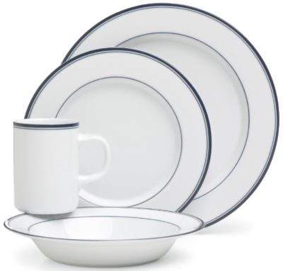 Concerto Allegro® Blue 4-Piece Place Setting