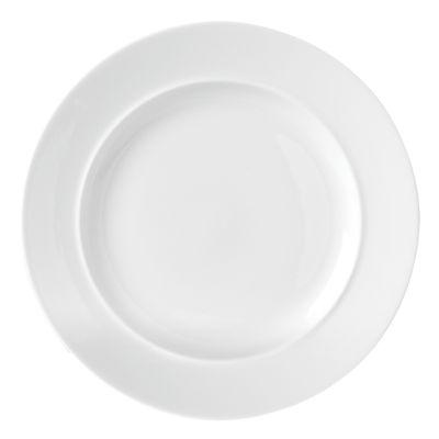 Café Blanc Dinner Plate - White