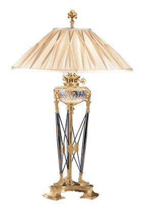 Antique Brass 2-Light Lamp