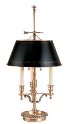Antique Brass 2-Light Lamp