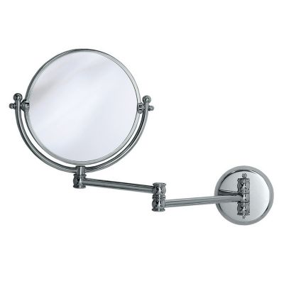 Lavatory Swing Wall Mirror - Chrome