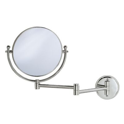 Premier Lavatory Swing Wall Mirror - Chrome