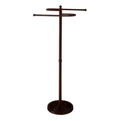 Spa Towel Essential Collection Floor Standing S-Towel Stand - Bronze