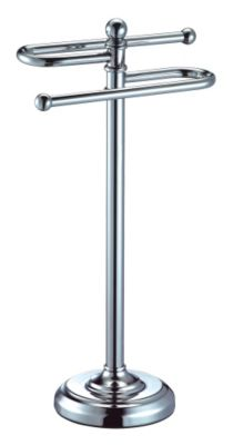 Vanity Essentials S-Style Towel Stand - Chrome