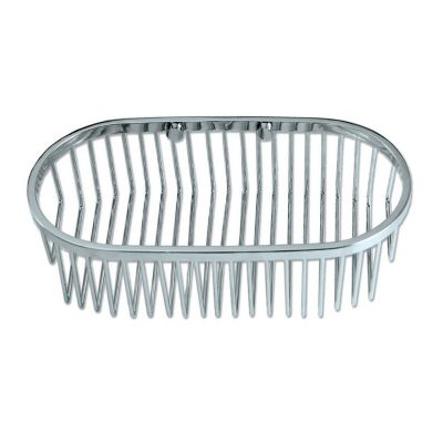 Shower Essential Oval Shower Basket - Chrome