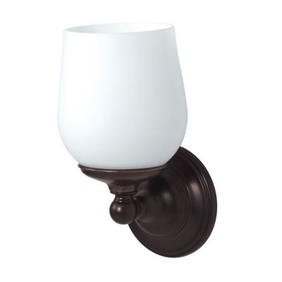 Gallery Oldenburg 1-Light Bath Sconce - Bronze