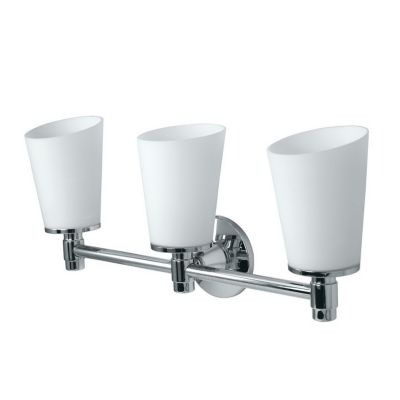 Gallery Max 3-Light Bath Bar - Chrome