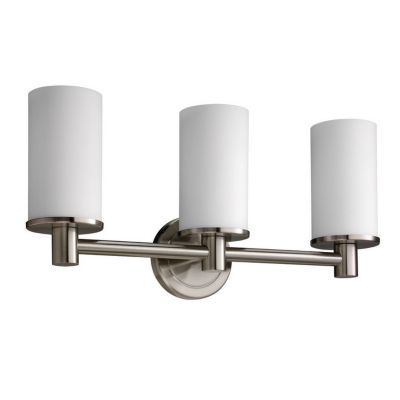Latitude² 3-Light Bath Bar - Satin Nickel