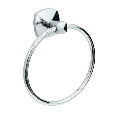 Jewel Towel Ring - Chrome