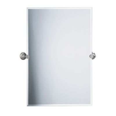 Laurel Avenue Rectangular Tilting Mirror - Polished Nickel