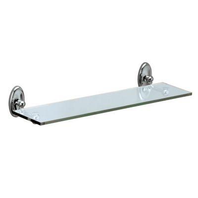 Camden Glass Shelf - Chrome